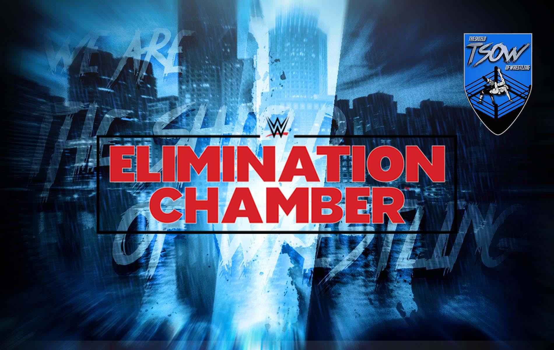 WWE Elimination Chamber 2021: cancellati due match?