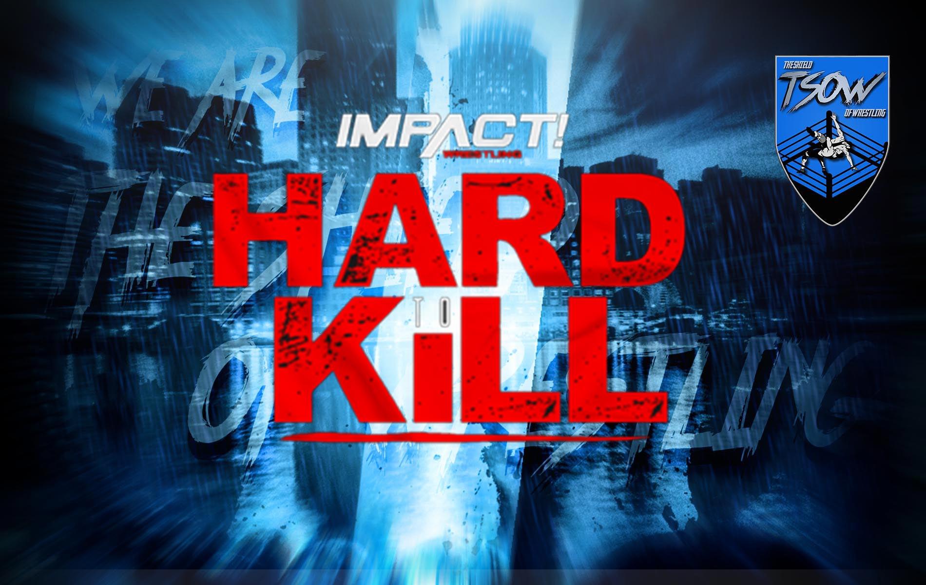 Anteprima Hard to Kill- IMPACT! Wrestling