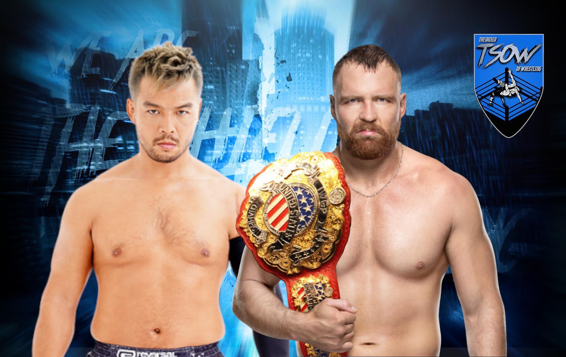 Jon Moxley vs KENTA ufficializzato per NJPW STRONG