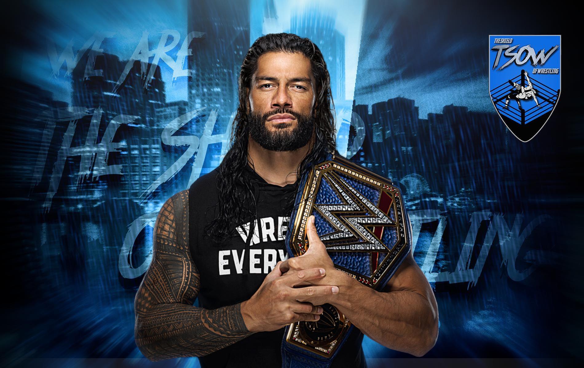 Roman Reigns irrompe nel match per gli SmackDown Tag Team Championships