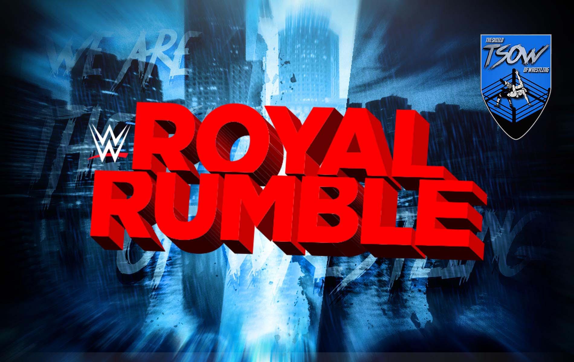 WWE Royal Rumble 2021: i numeri del match