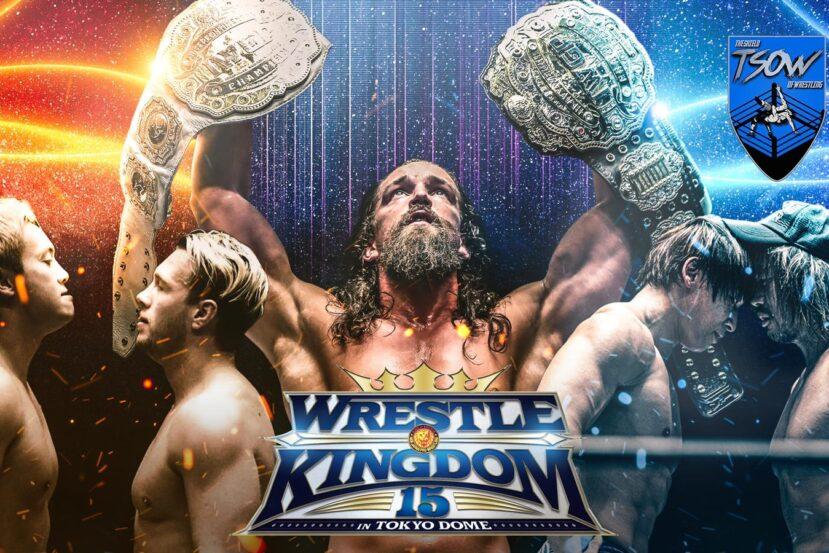 EVIL vs SANADA: come è finito a Wrestle Kingdom?