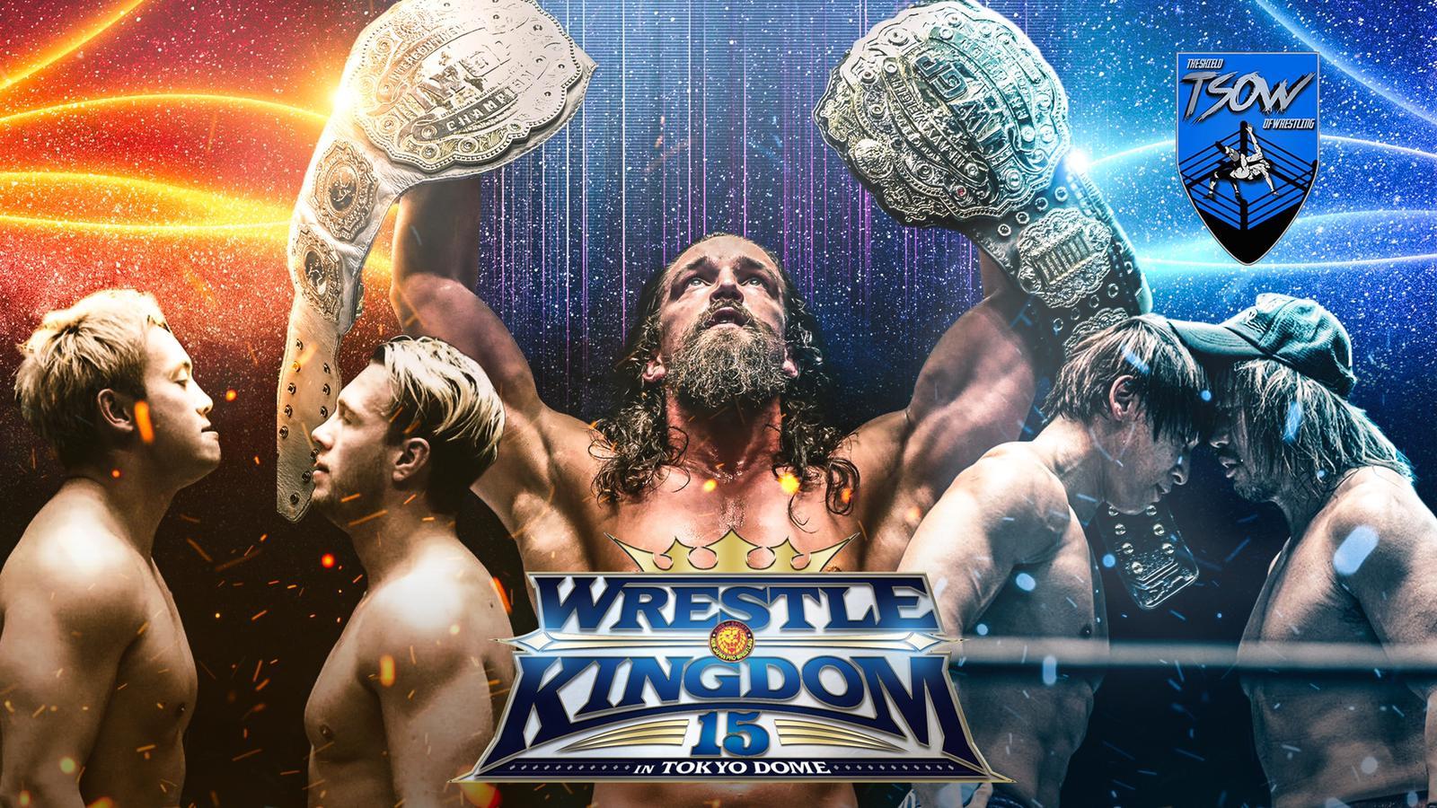 Wrestle Kingdom 15 - Day 1 Risultati Live