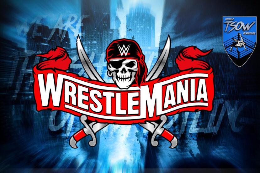 WrestleMania 37: rivelata la card progettata