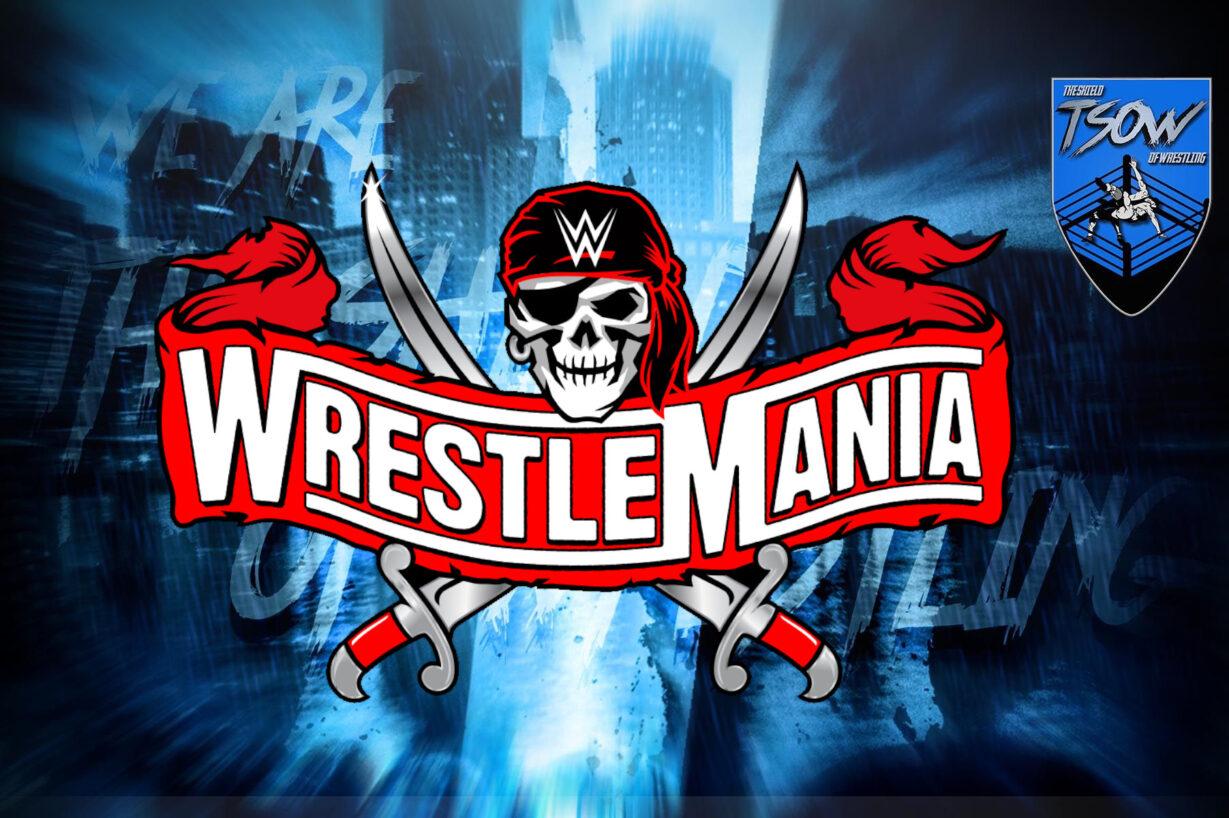 WrestleMania 37: ci sarà un match di NXT?