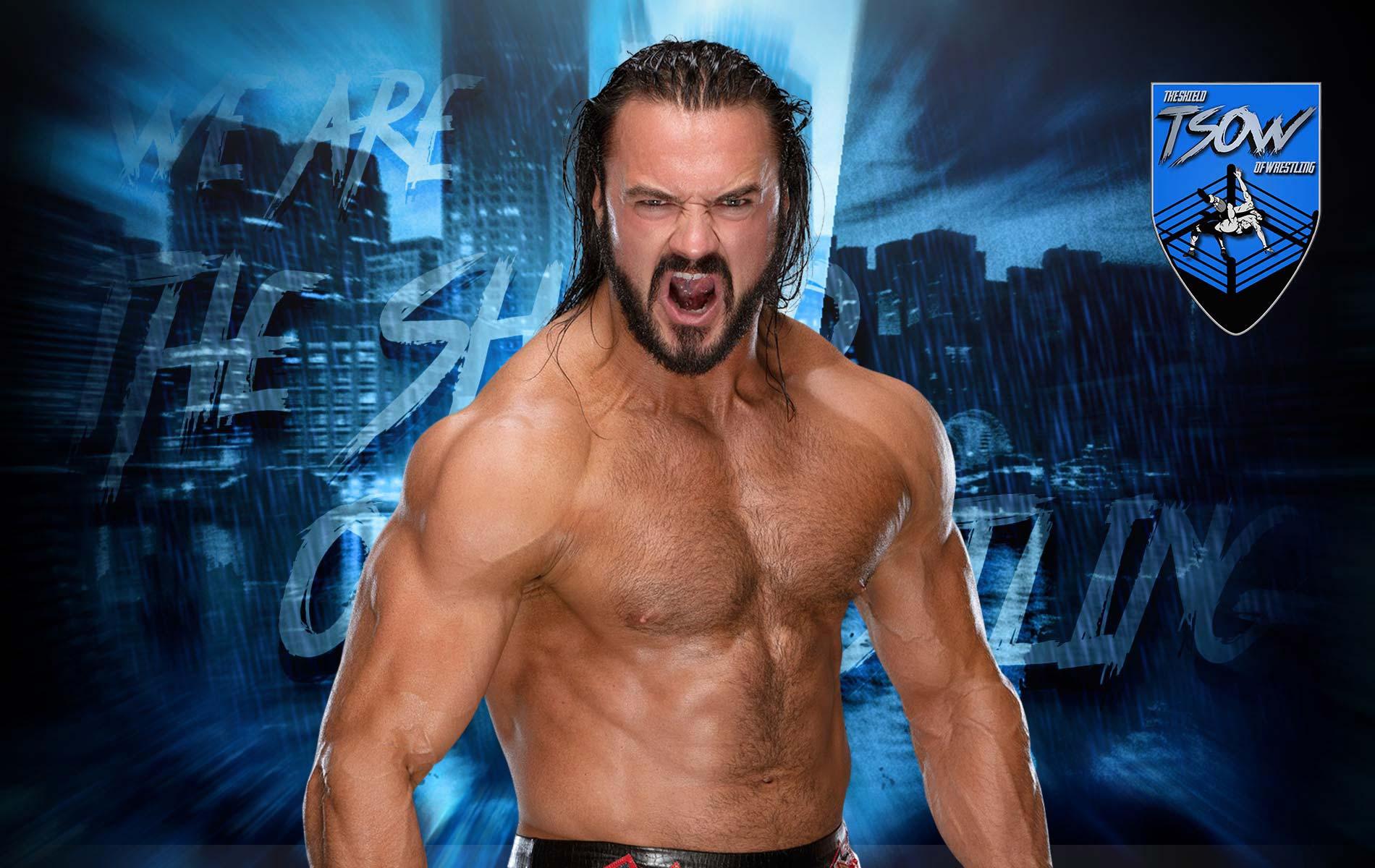 Drew McIntyre vorrebbe sfidare John Cena a WrestleMania 39