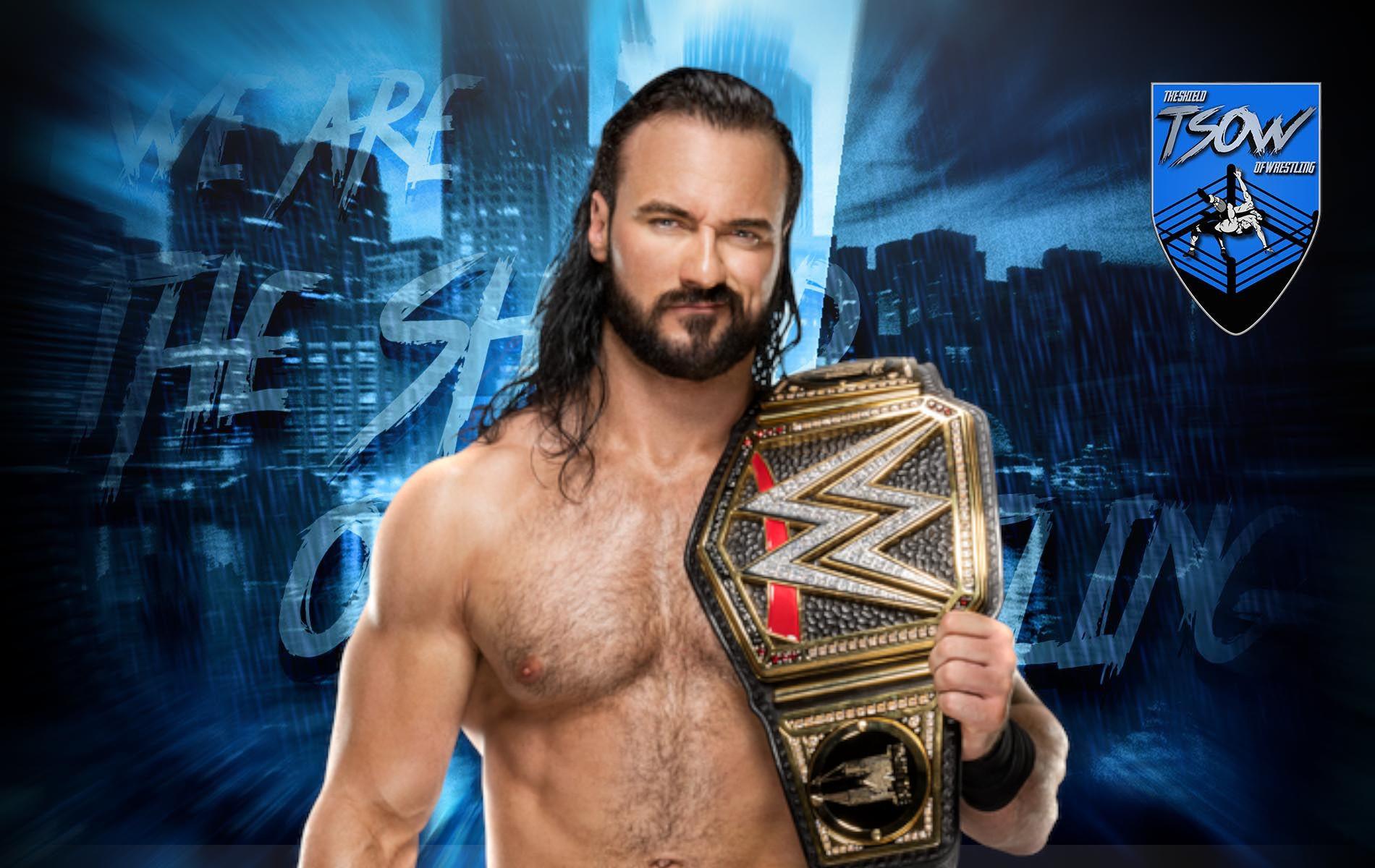 Drew McIntyre: il suo commento sul match contro Randy Orton