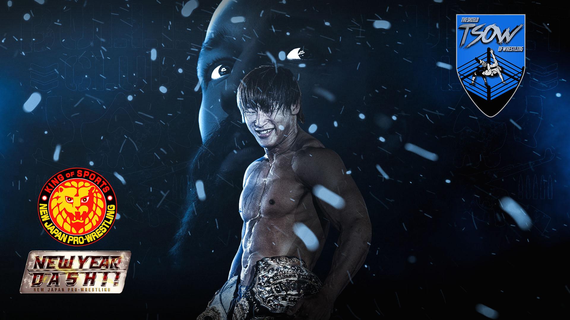 NJPW New Year Dash Risultati Live