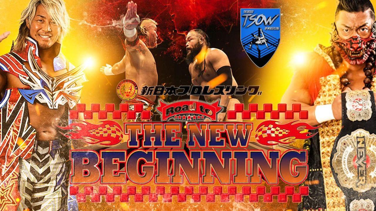 Report The New Beginning in Nagoya - NJPW