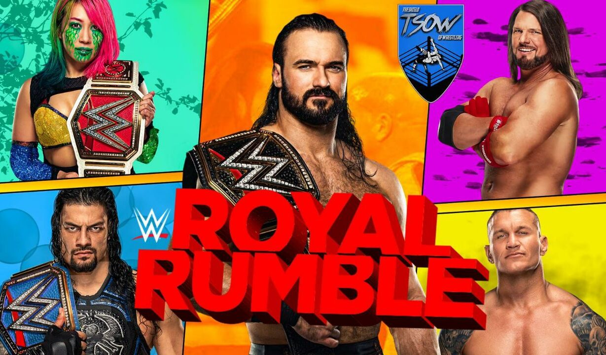 WWE Royal Rumble 2021 - Pagelle