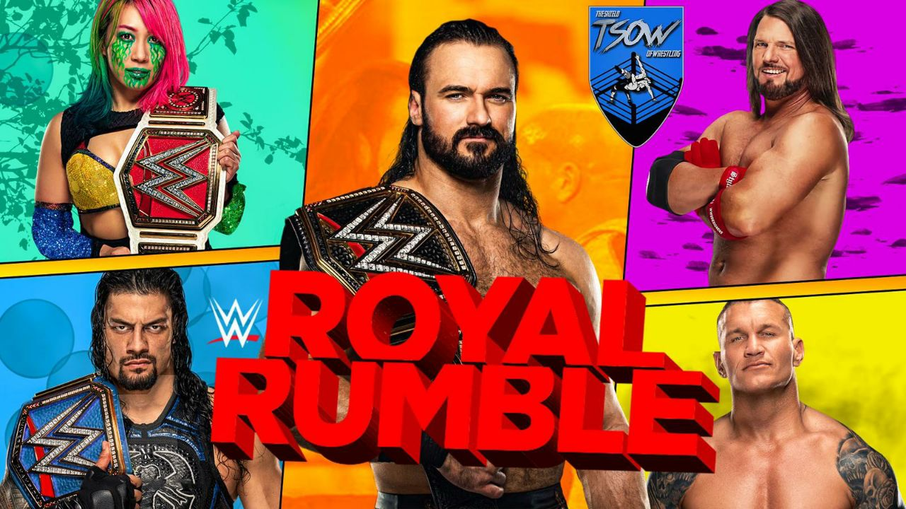 Royal Rumble 2021 Risultati Live - WWE