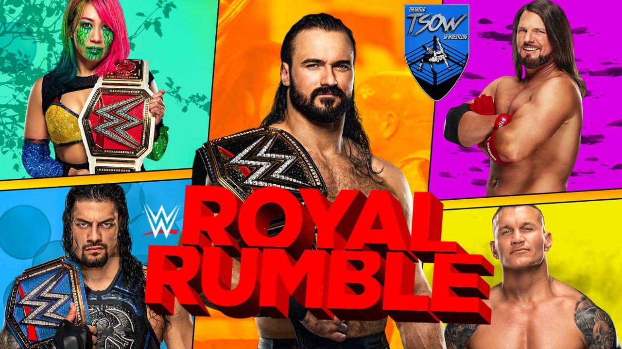 Report Royal Rumble 2021 - WWE
