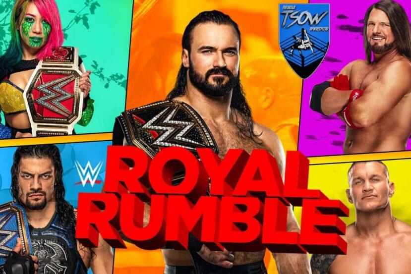 WWE ROYAL RUMBLE 2021 - Anteprima