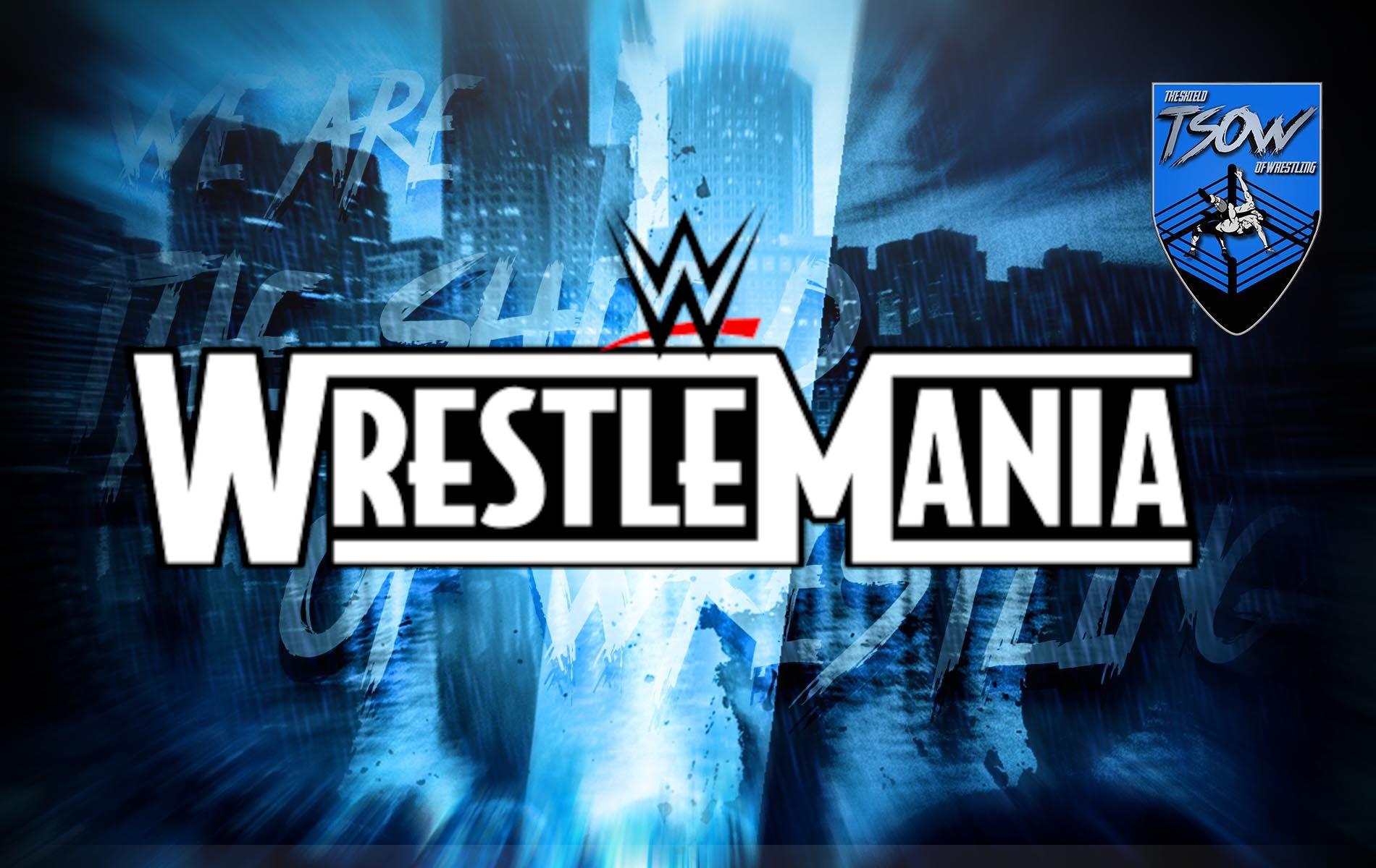 WrestleMania 37 verrà posticipata di qualche settimana