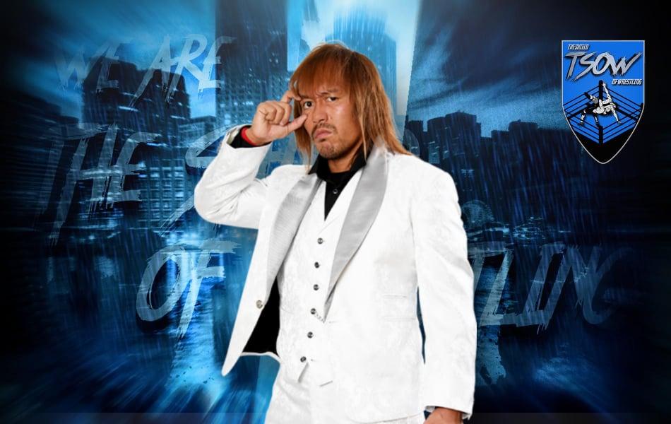 Tetsuya Naito si infortuna durante Road to Castle Attack