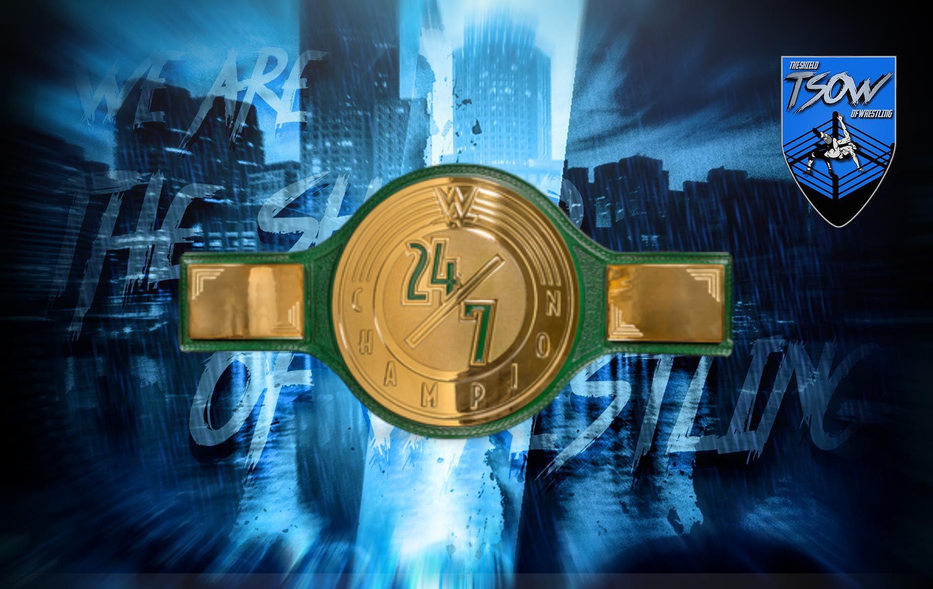 Akira Tozawa vince il WWE 24/7 Championship a RAW
