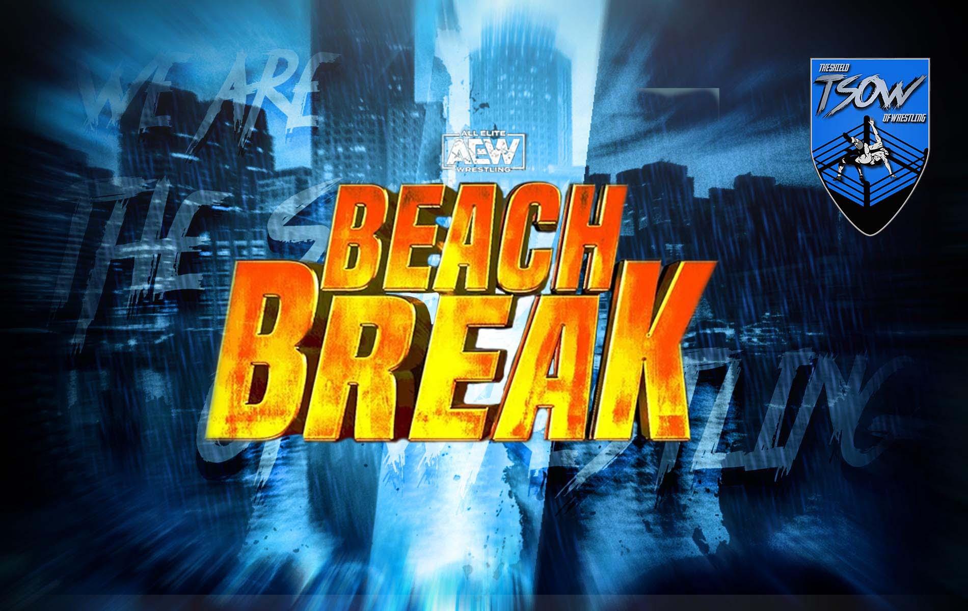 AEW Beach Break Report - 03-02-2021
