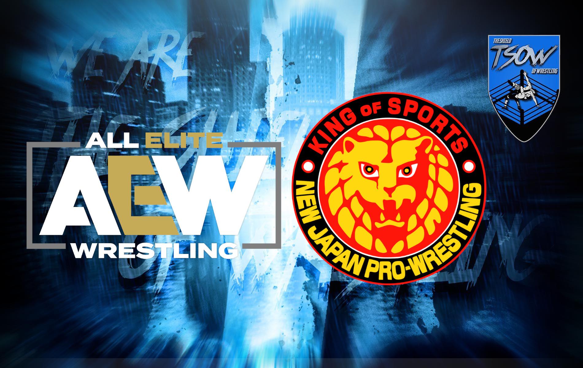 AEW e NJPW: collaborazione in vista per le due federazioni?