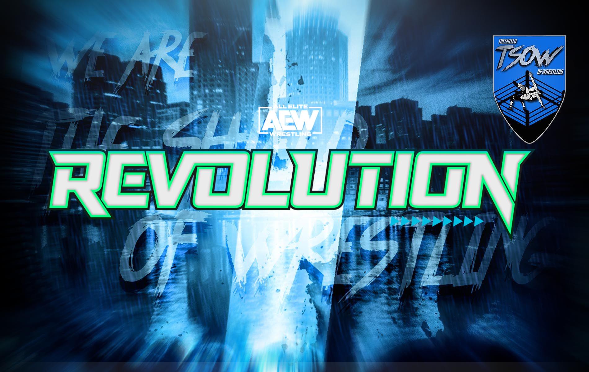 AEW Revolution: biglietti esauriti in pochi minuti