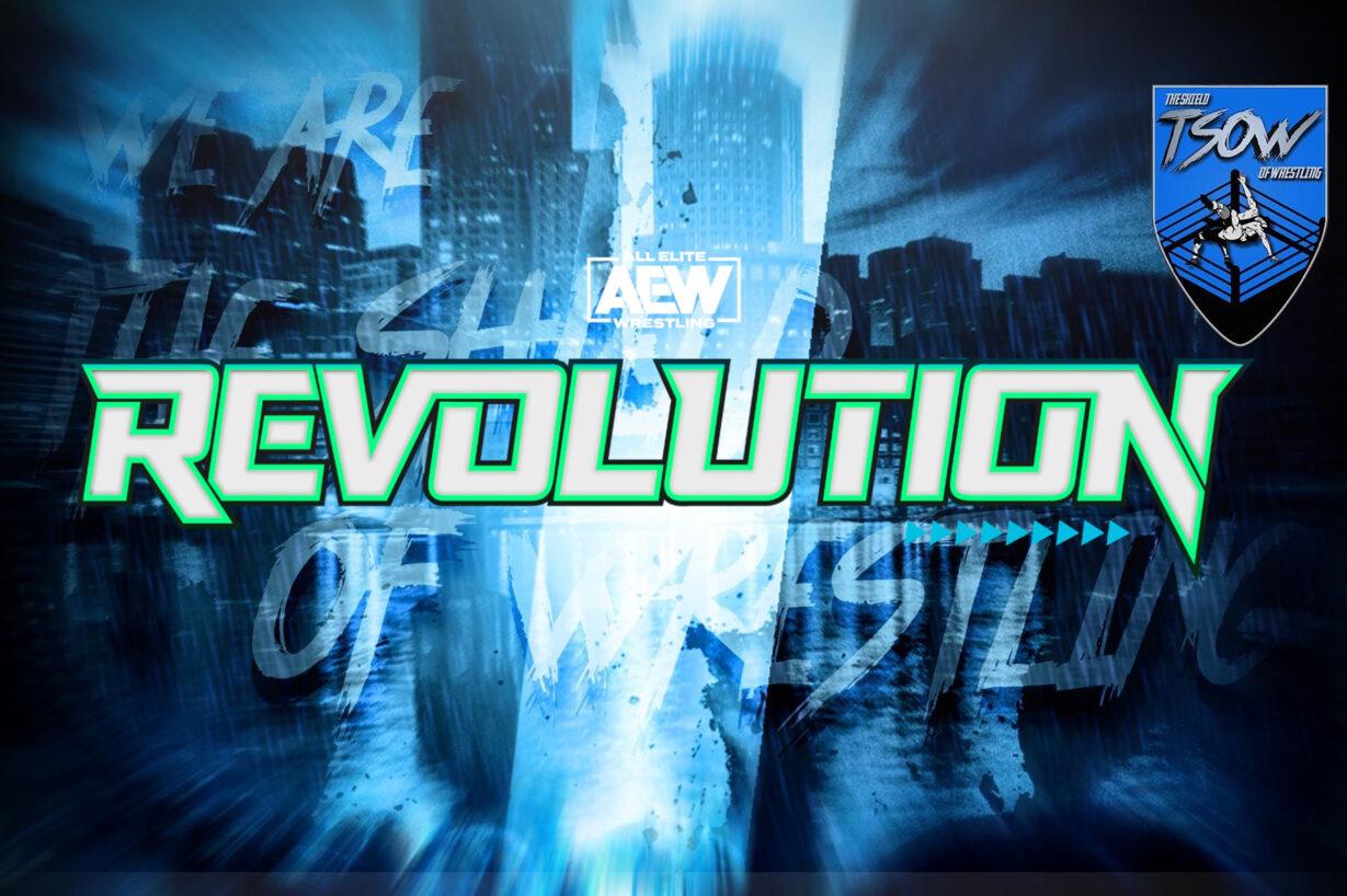 AEW Revolution: nuovi match aggiunti alla card