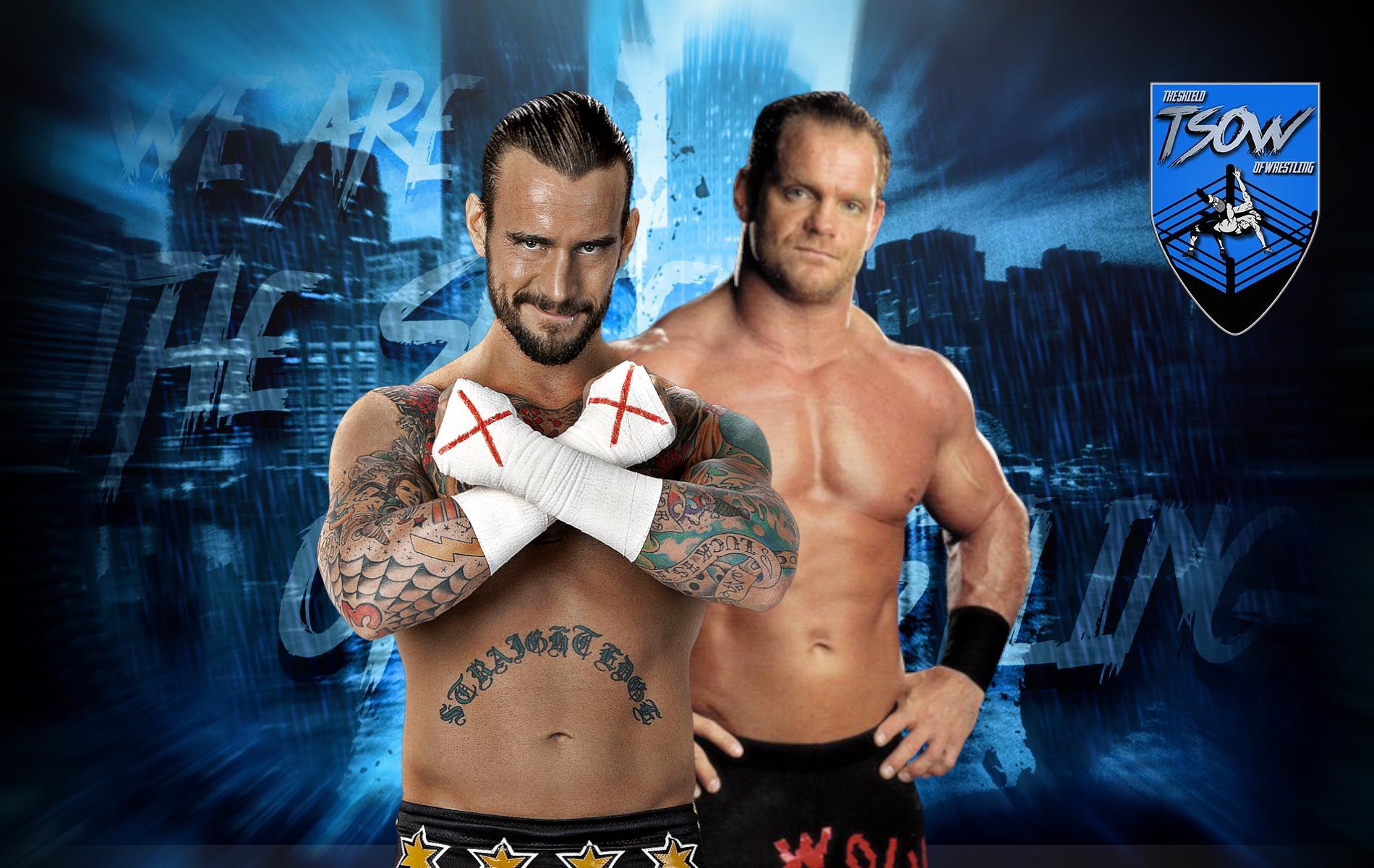 CM Punk e Chris Benoit avrebbero avuto un feud violento