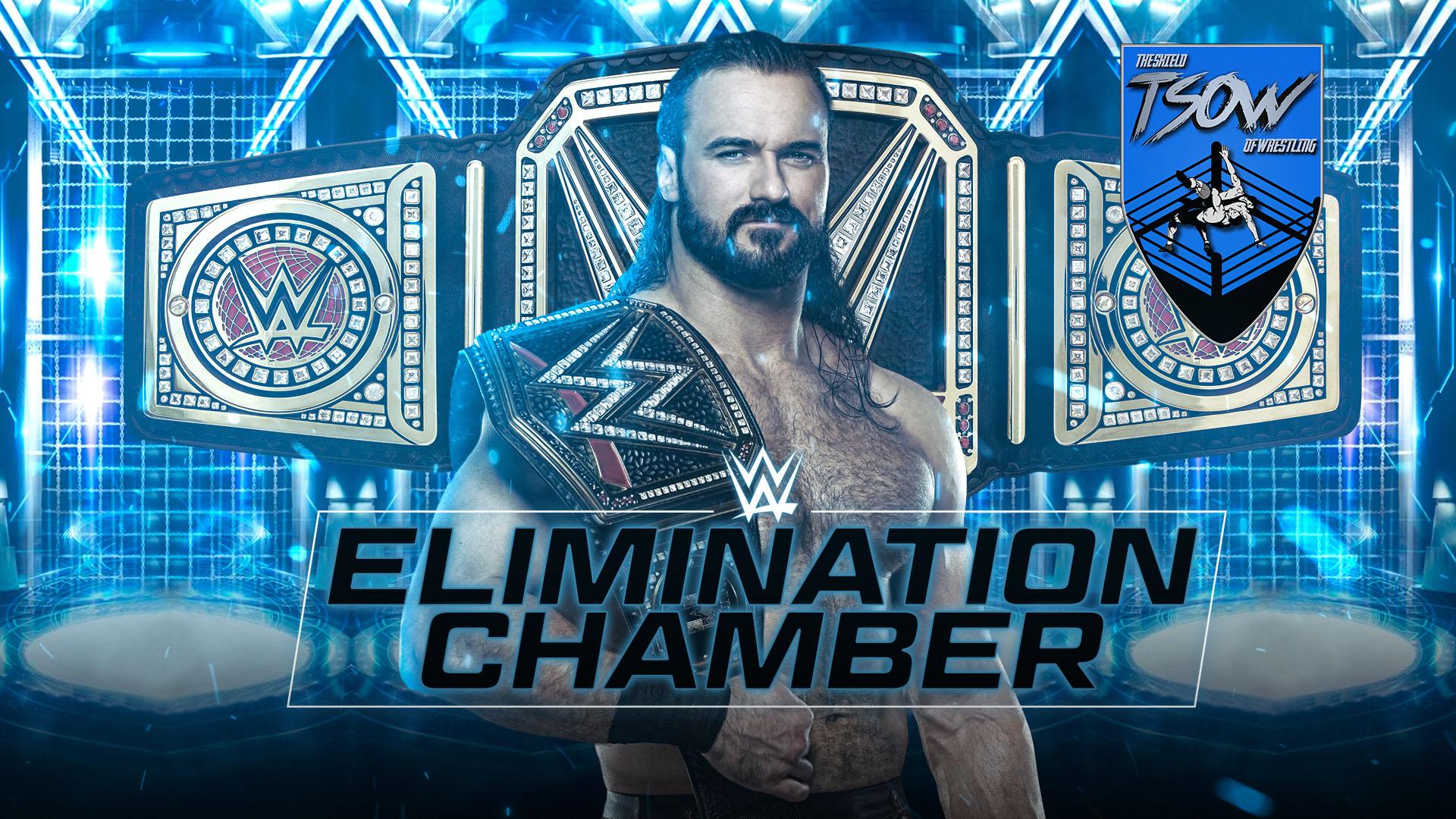 WWE Elimination Chamber 2021 - Anteprima