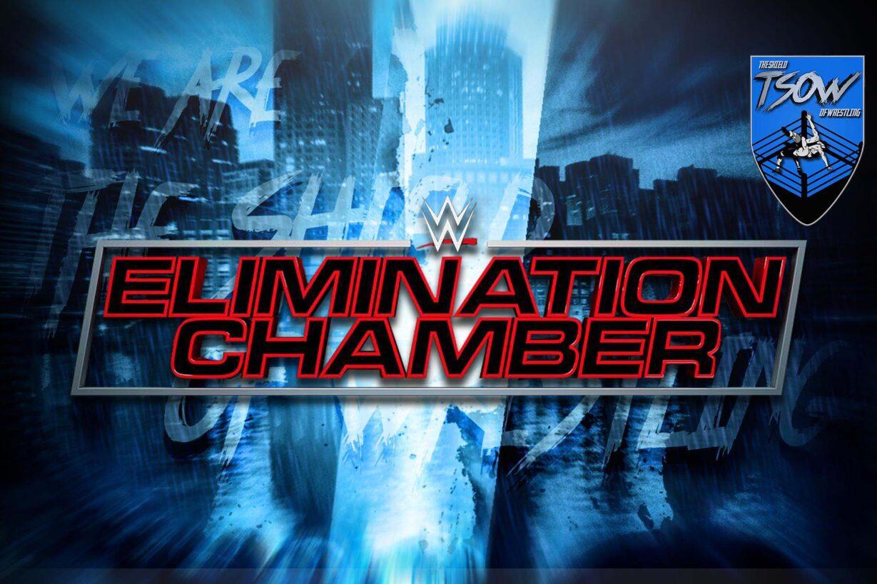 Elimination Chamber 2021: cambiato il timing dei match?