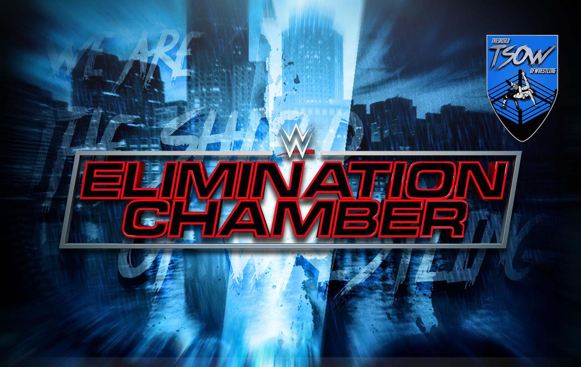 WWE Elimination Chamber 2021 orario, streaming e come vederlo