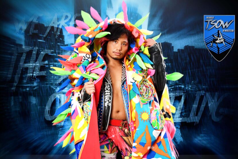 Hiromu Takahashi rende vacante l'IWGP Jr. Heavyweight Title