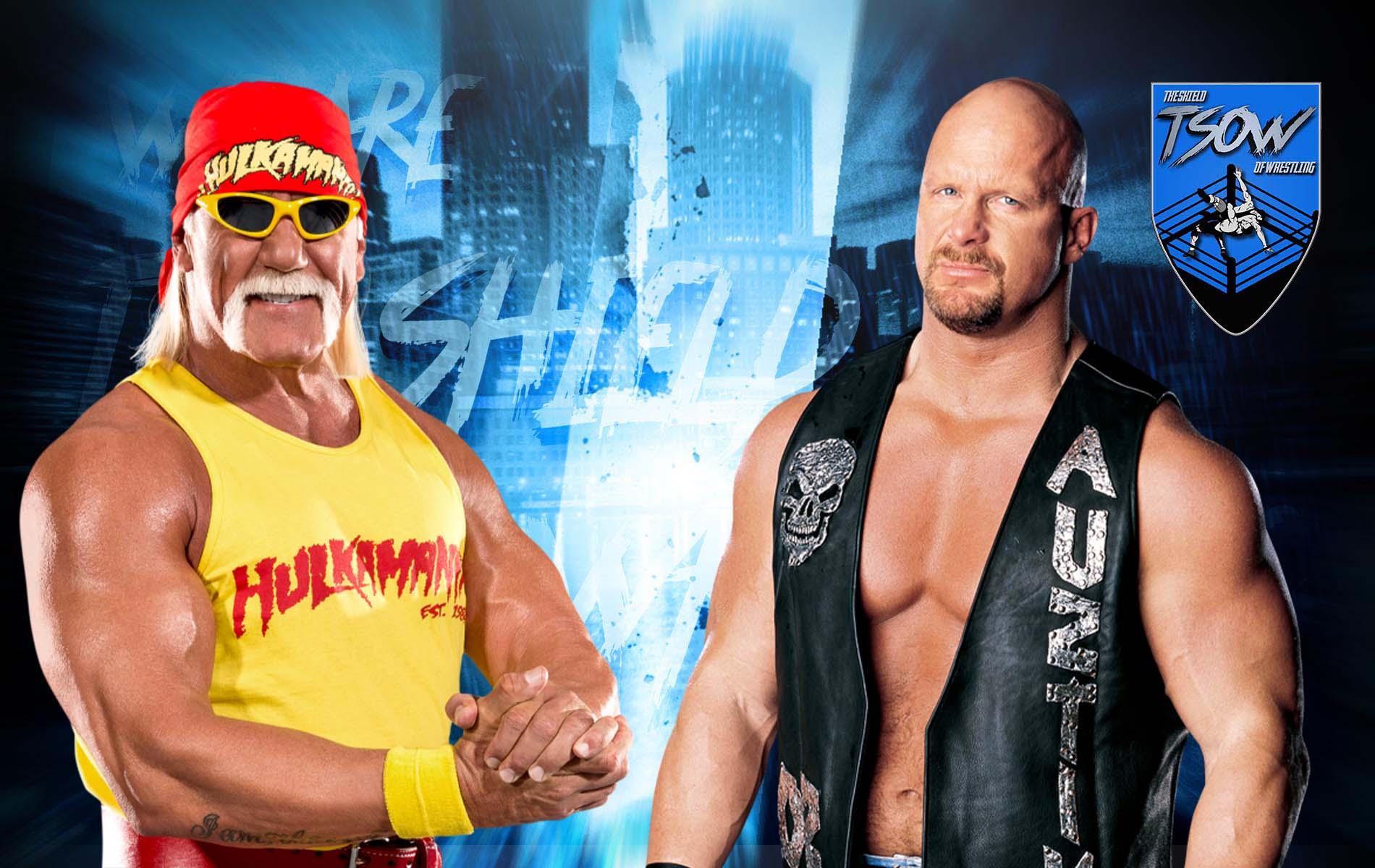 Hulk Hogan vs Steve Austin: il motivo per cui non si è fatto