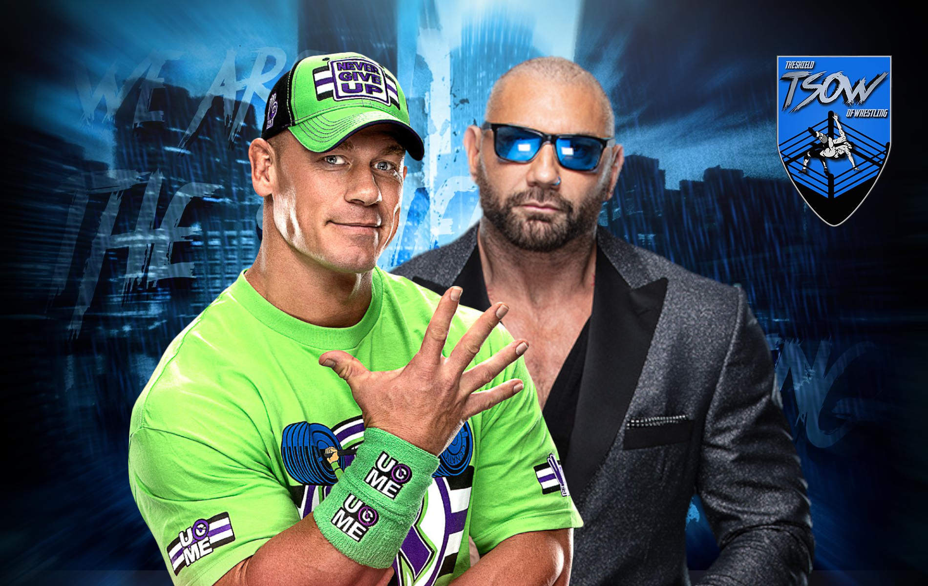 John Cena e Batista protagonisti di due spot al Super Bowl