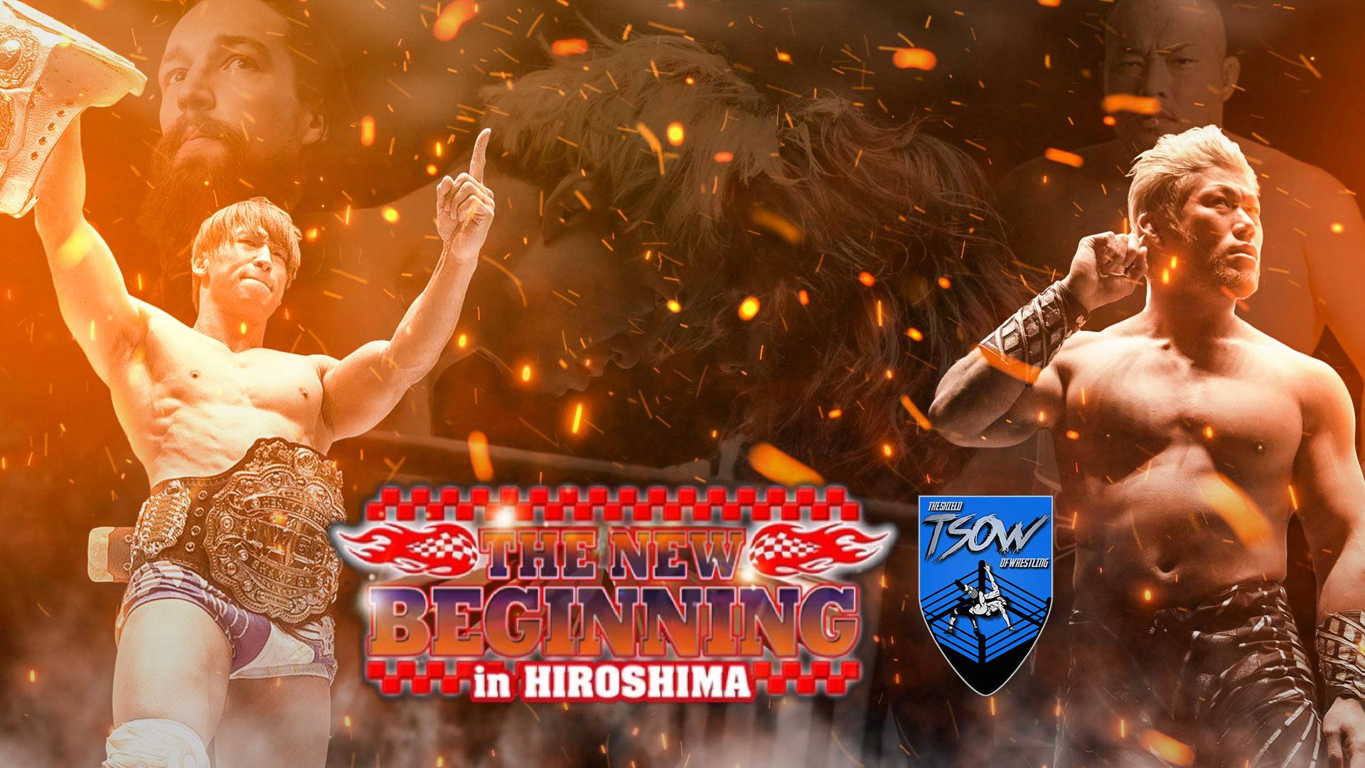 Risultati The New Beginning in Hiroshima Day 1 - NJPW