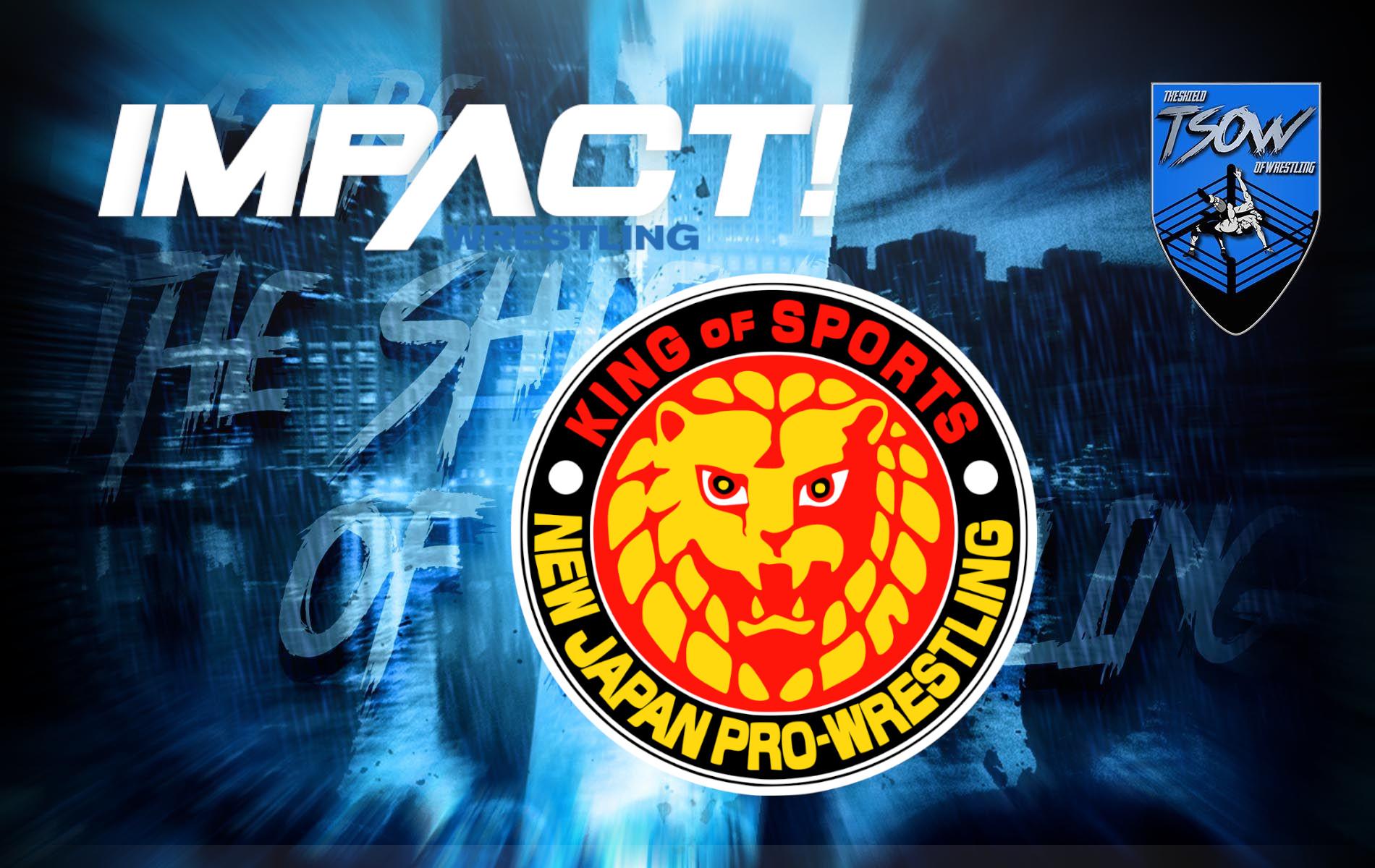 IMPACT Wrestling: ufficiale la collaborazione con la NJPW