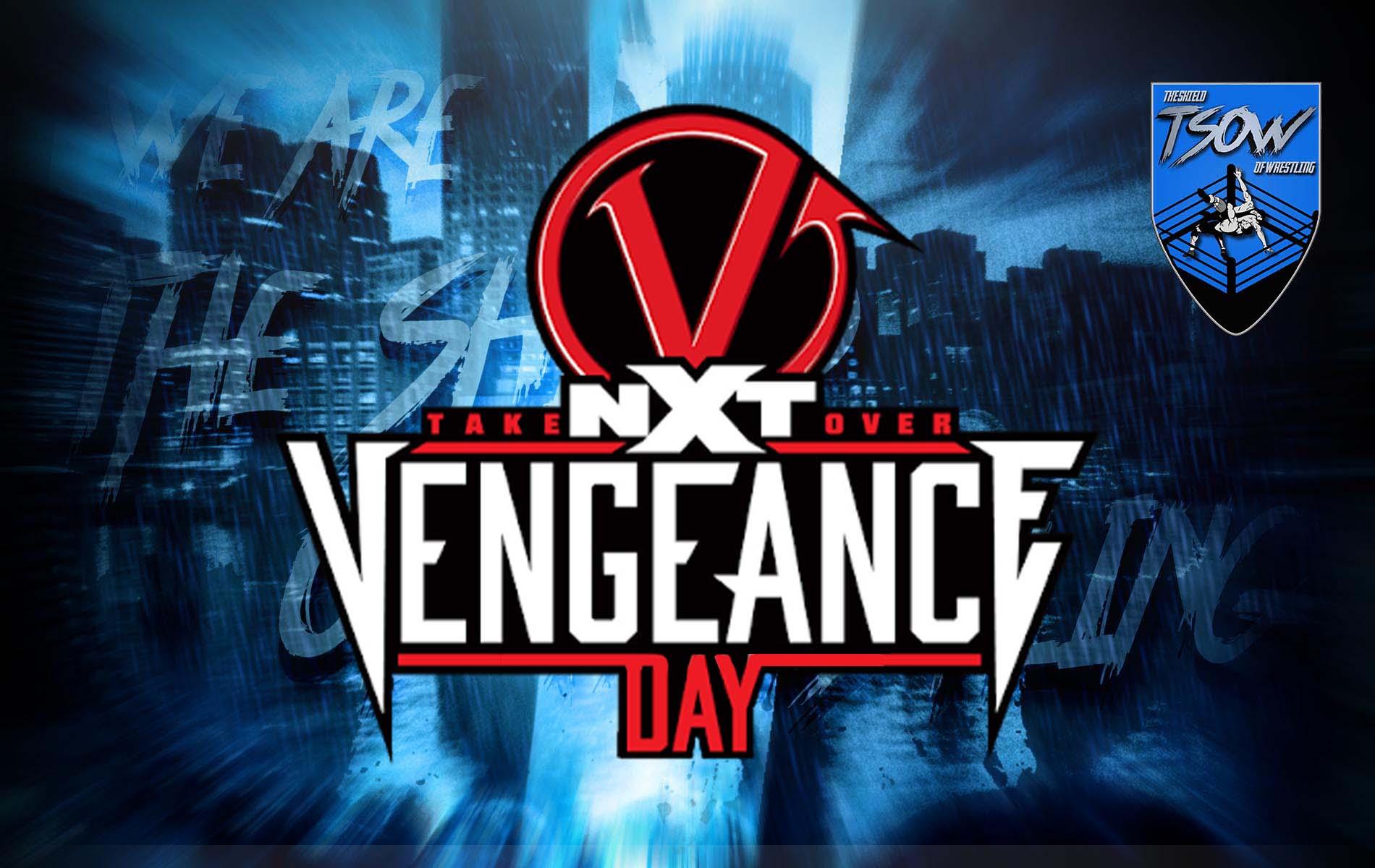 NXT TakeOver: Vengeance Day orario, streaming e come vederlo