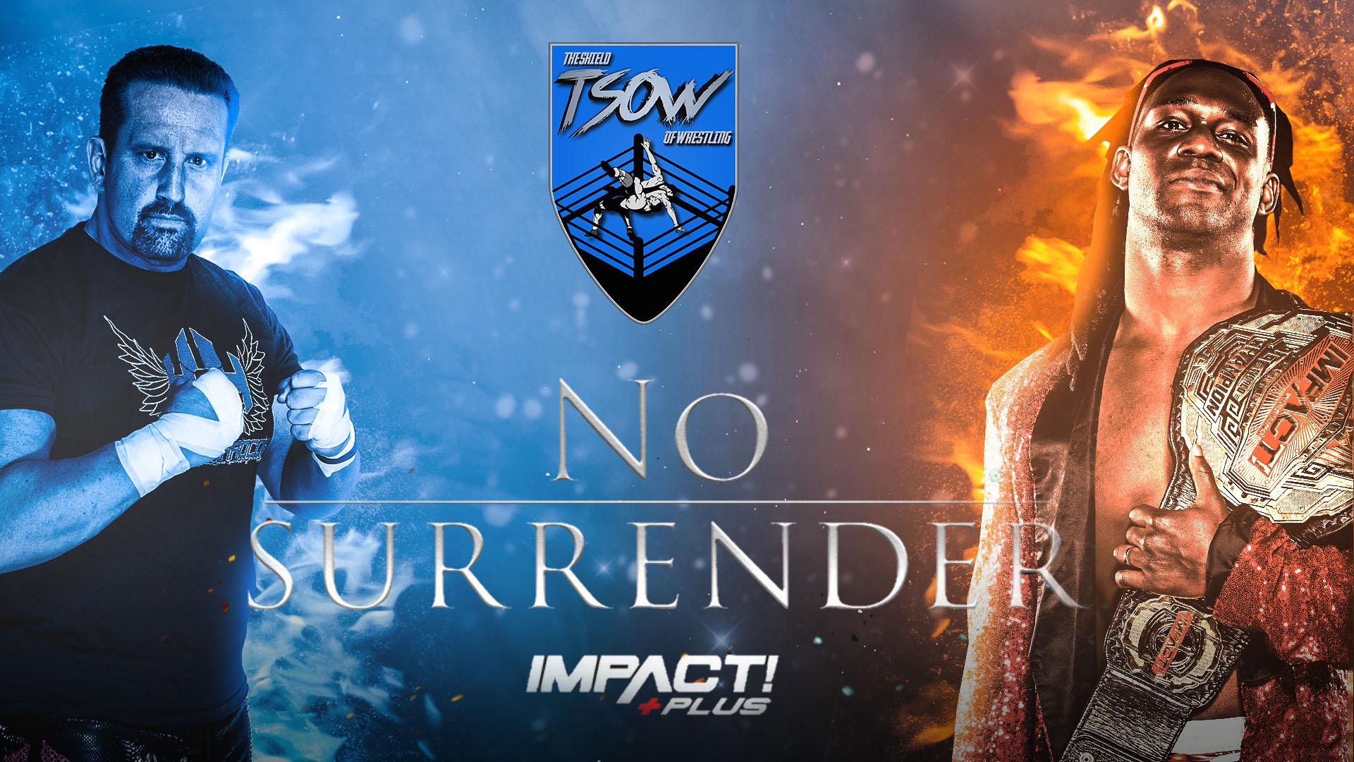 Anteprima No Surrender- IMPACT! Wrestling
