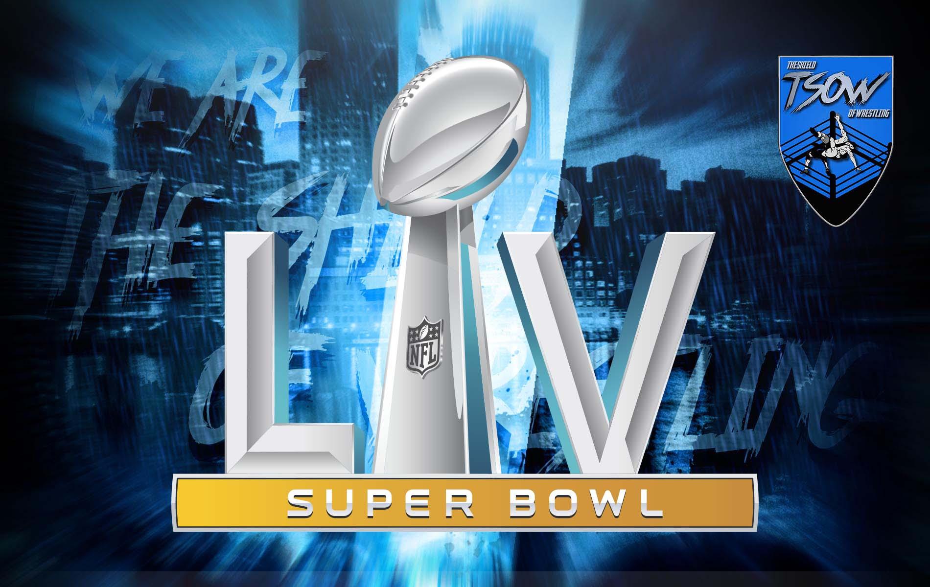 Super Bowl 2021: presenti anche alcuni wrestler all'evento