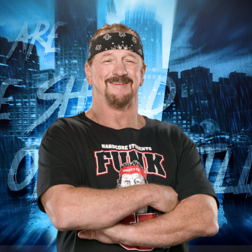 AEW: Terry Funk commenta l'Exploding Barbed Wire Deathmatch