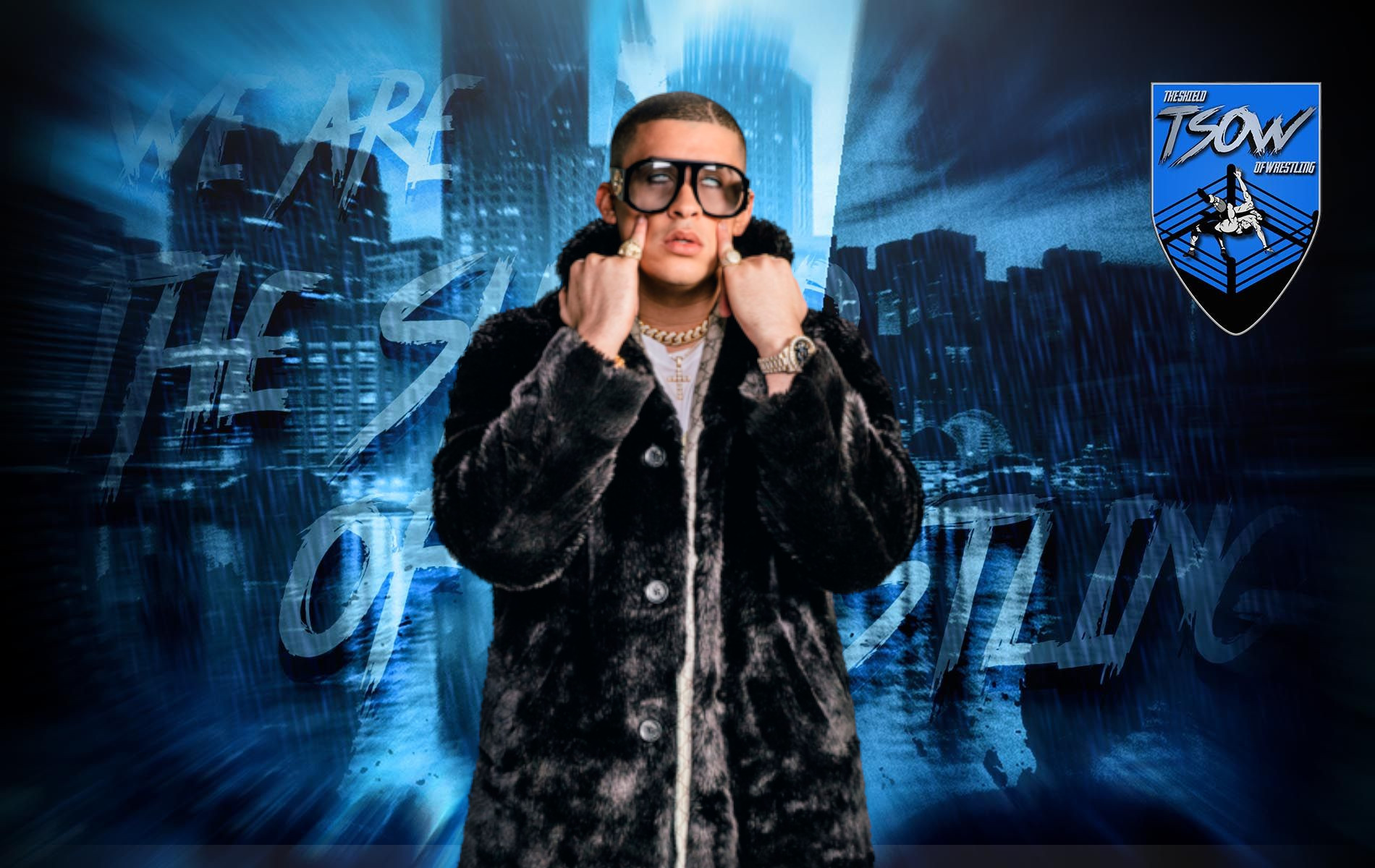 Bad Bunny: il suo merchandise Sold Out sul WWE Shop