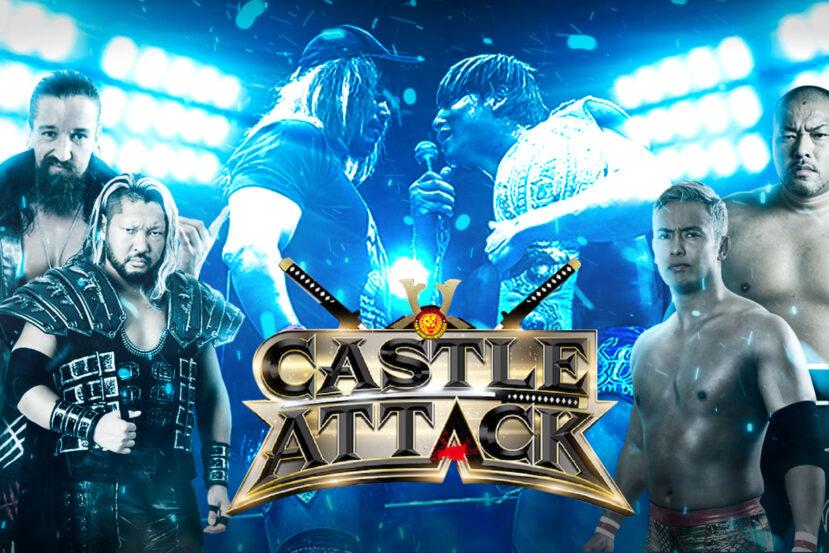 Anteprima NJPW Castle Attack