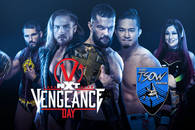 NXT TakeOver: Vengeance Day Risultati Live - WWE