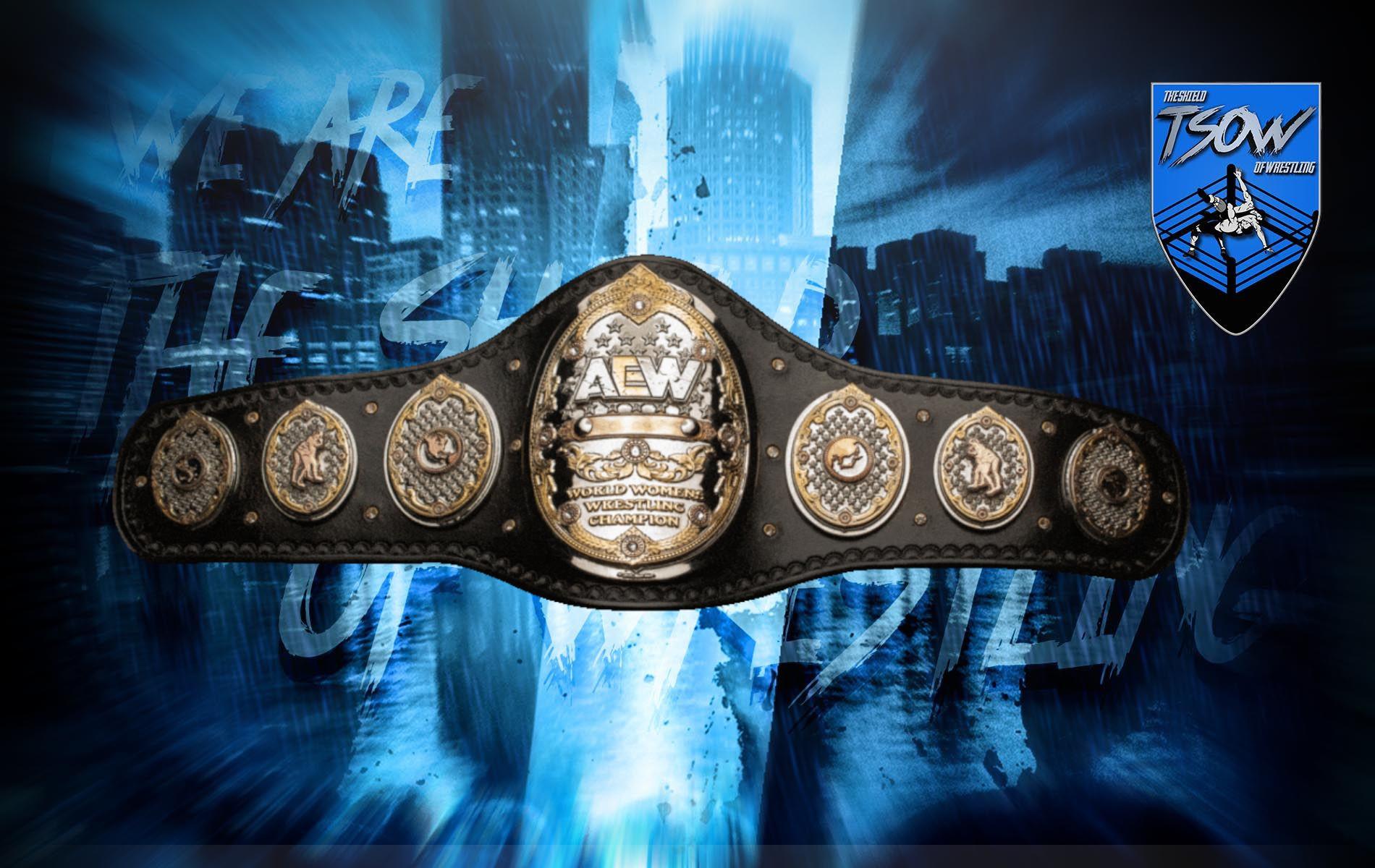 AEW Women's Championship: presentata la nuova cintura