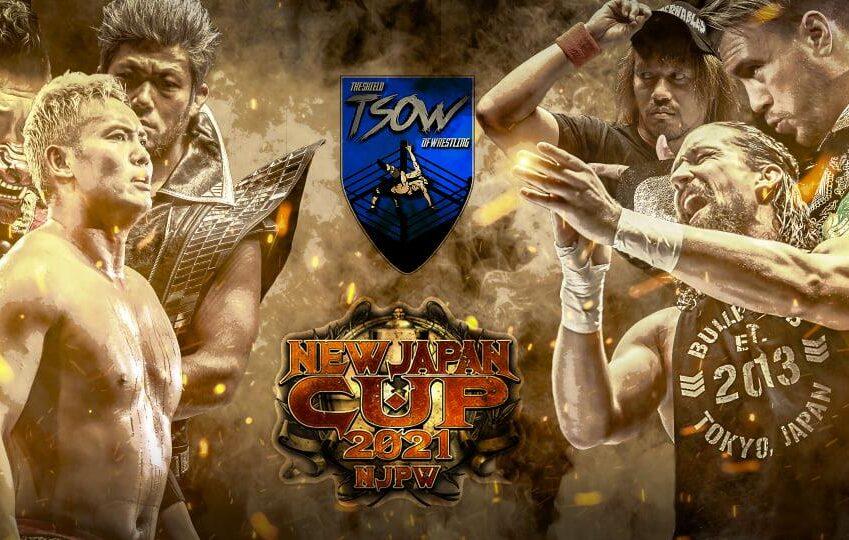 Risultati NJPW NEW JAPAN CUP 2021 - Day 1