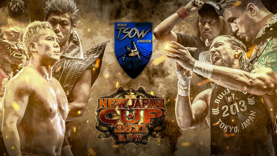 NJPW NEW JAPAN CUP 2021 - Anteprima