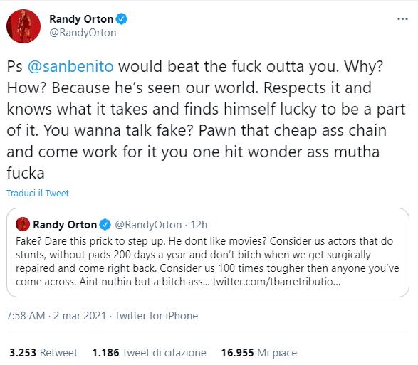 Randy Orton: scontro social col rapper Soulja Boy
