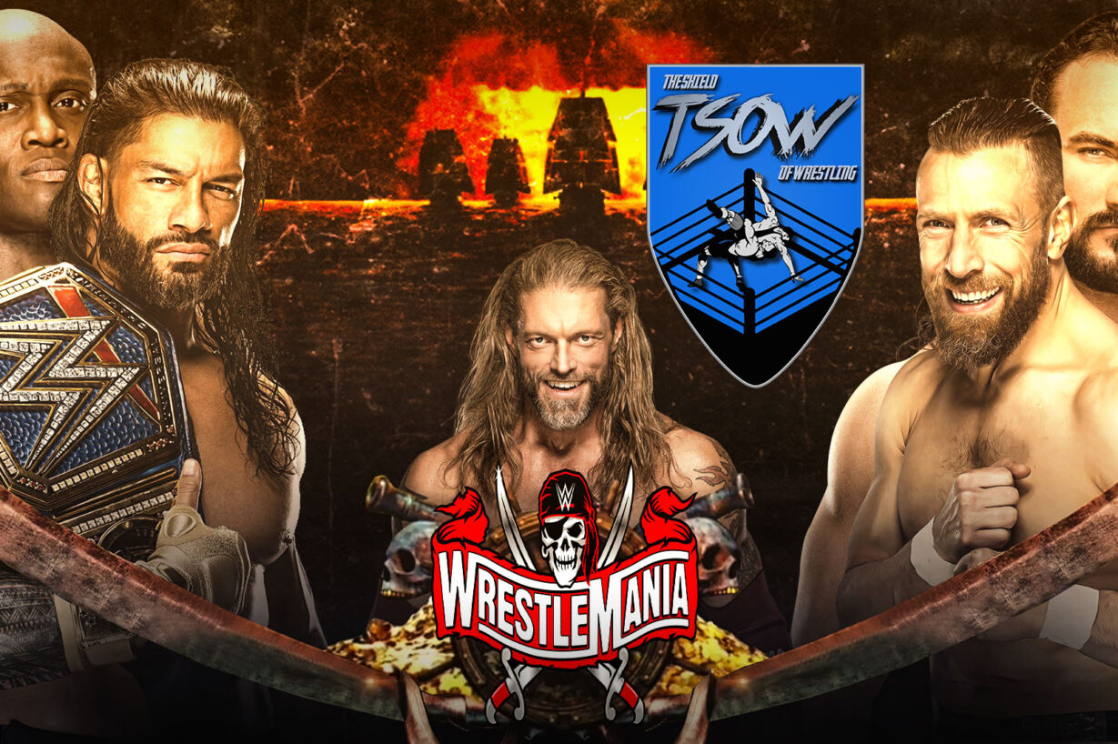 WrestleMania 37 Night 1 Risultati Live - WWE