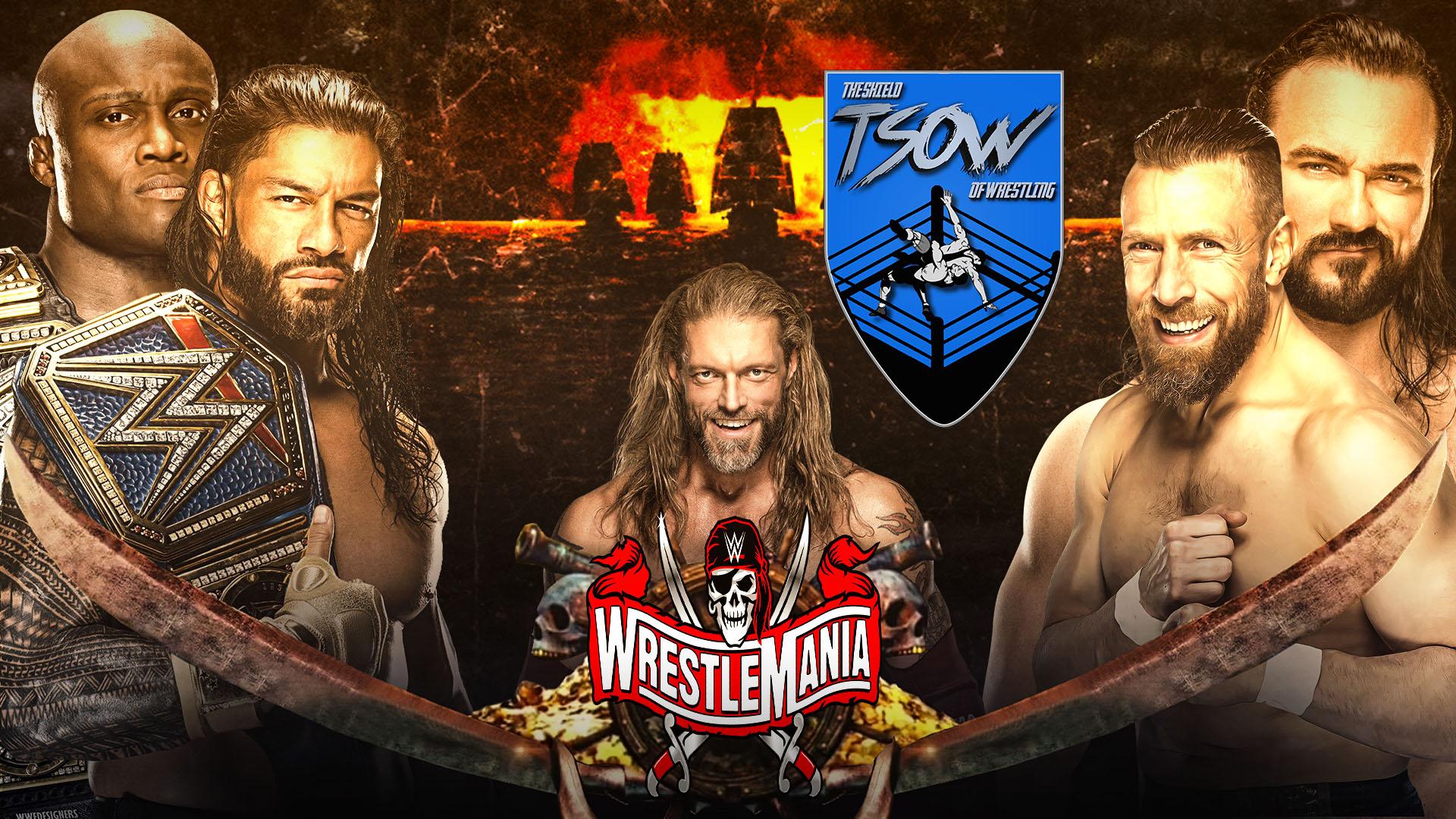 WrestleMania 37 Night 1 Risultati Live - WWE