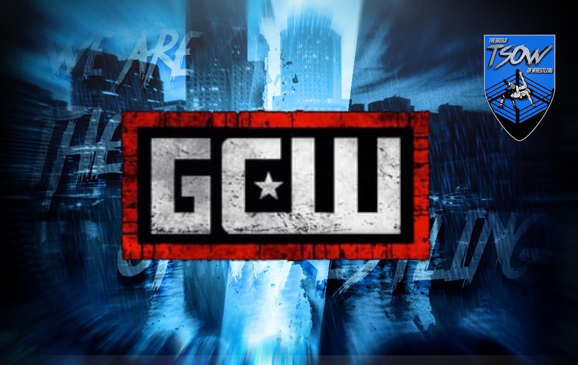 GCW: malore per un wrestler durante un match