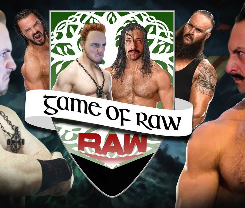 Bel meme questa puntata complimenti WWE - Game Of RAW Podcast Ep. 11