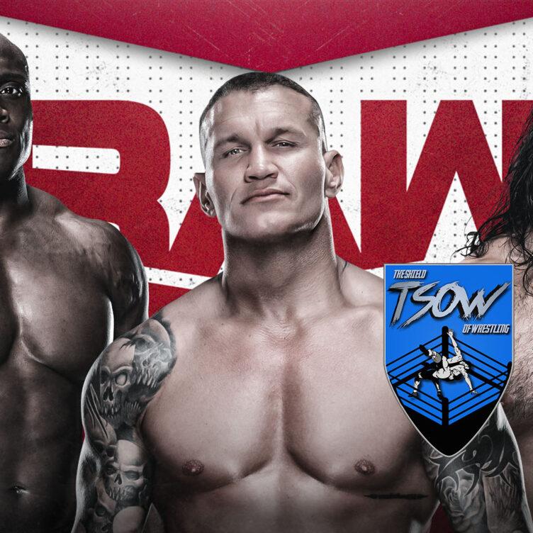 RAW 14-06-2021 - Risultati Live
