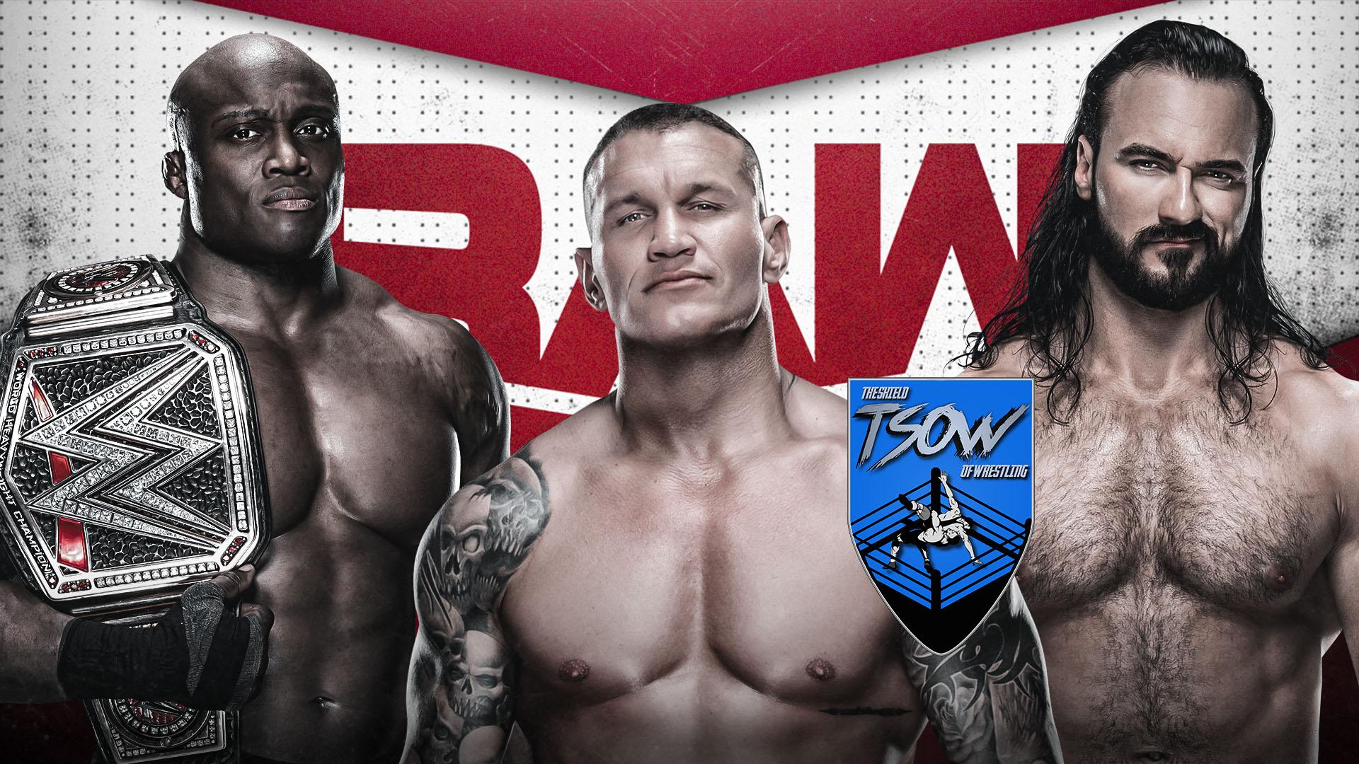 Report RAW 10-05-2021 - WWE